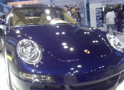 Some breed of Porche 911